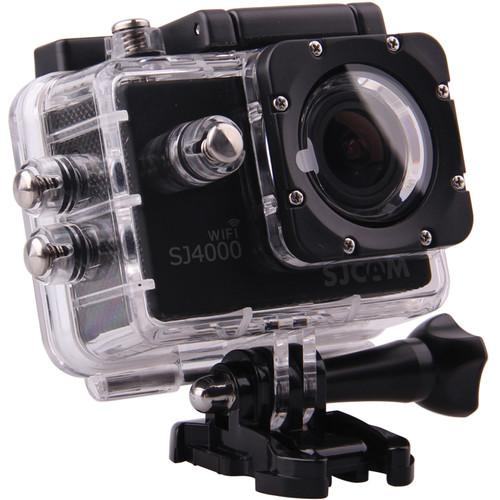 SJCAM SJ4000 Action Camera with Wi-Fi (Black) SJ4000WFB