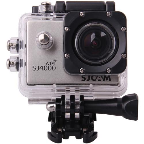 SJCAM SJ4000 Action Camera with Wi-Fi (Silver) SJ4000WFS