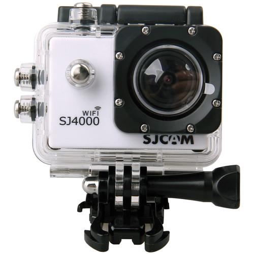SJCAM SJ4000 Action Camera with Wi-Fi (White) SJ4000WFW