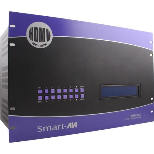 Smart-AVI HDMV-16X HD Multiviewer with 16 HDMI SM-HDMV-16X-S