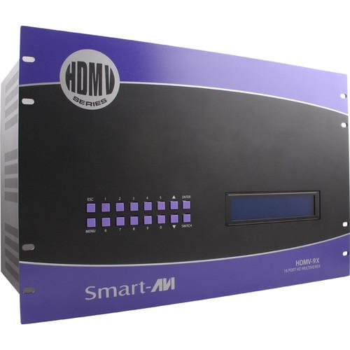 Smart-AVI HDMV-9X HD Multiviewer with 9 HDMI Inputs SM-HDMV-9X-S