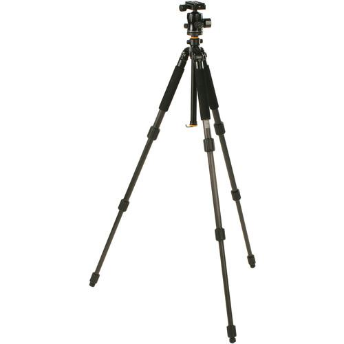 Smith-Victor CF100X Black Diamond Carbon Fiber Tripod 700419