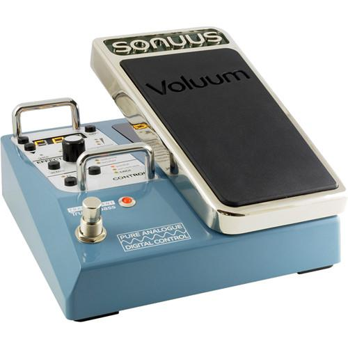 SONUUS Voluum Analogue Volume Effects Pedal with Digital VOLUUM