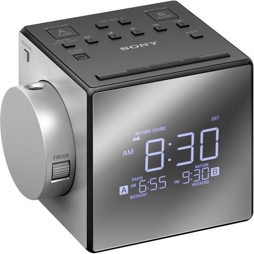 Sony ICF-C1PJ Alarm Clock Radio with Time Projection ICFC1PJ