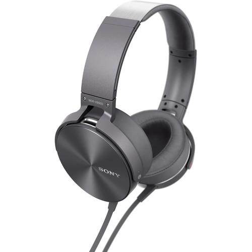 Sony MDR-XB950AP Extra Bass Headphones (Gray) MDRXB950AP/H