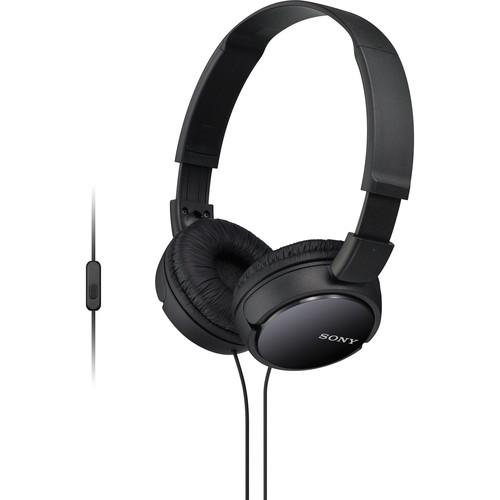 Sony MDR-ZX110AP Extra Bass Smartphone Headset MDRZX110AP/B