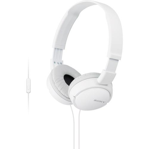 Sony MDR-ZX110AP Extra Bass Smartphone Headset MDRZX110AP/W