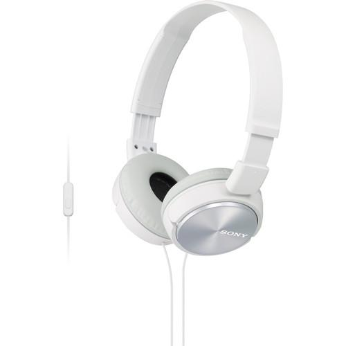 Sony MDR-ZX310AP ZX Series Stereo Headset (White) MDRZX310AP/W