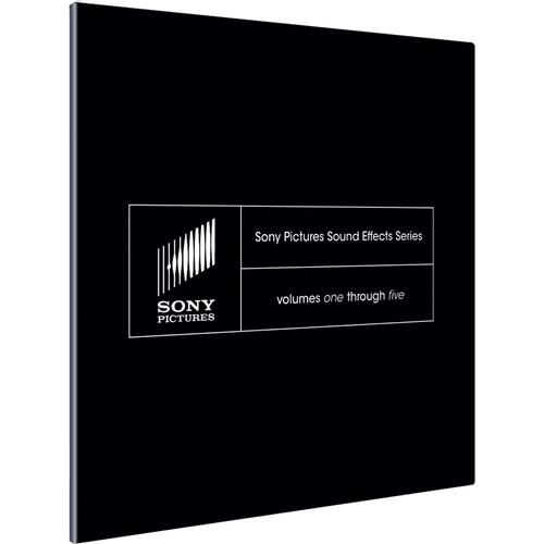 Sony Pictures Sound Effects Series (Volumes 1-5) SSDS1099ESD