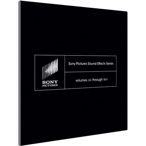 Sony Pictures Sound Effects Series (Volumes 6-10) SSDS2099ESD