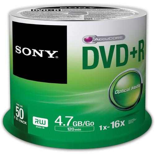 Sony Recordable Storage DVD R (Pack of 50) 50DPR47SP/US