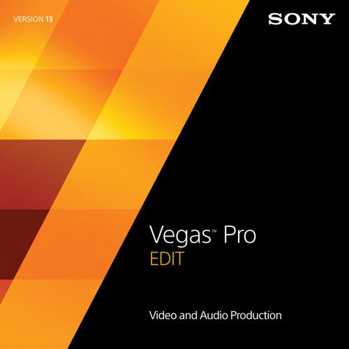 Sony Sony Vegas Pro 13 Edit Upgrade (Download) SVPE13094ESD