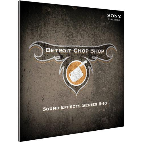 Sony The Detroit Chop Shop Sound Effect Library DCSE2099ESD