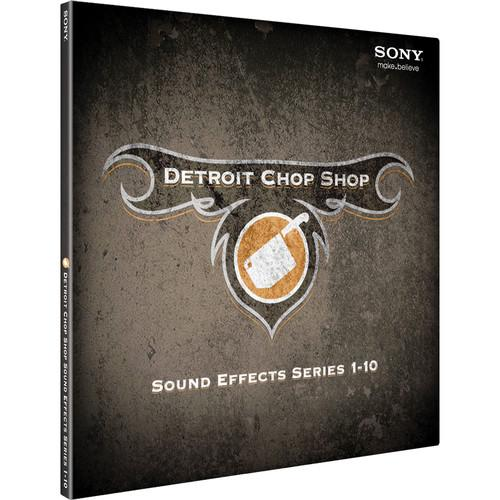Sony The Detroit Chop Shop Sound Effect Library DCSE3099ESD