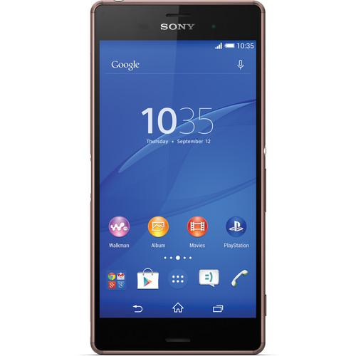 Sony Xperia Z3 D6603 16GB Smartphone (Unlocked, Copper)