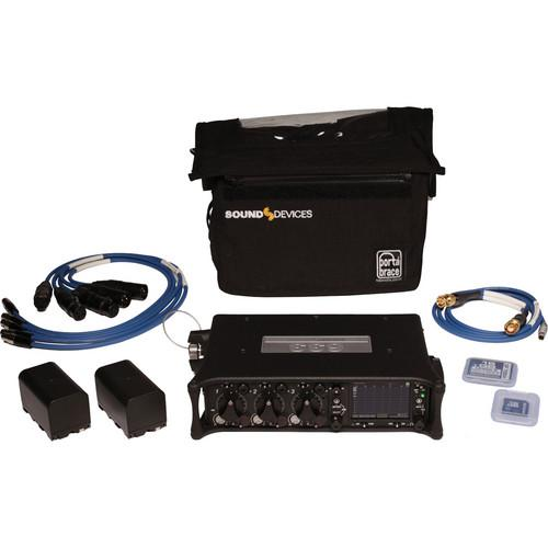 Sound Devices 633 Compact Field Mixer Kit with Carrying 633 KIT
