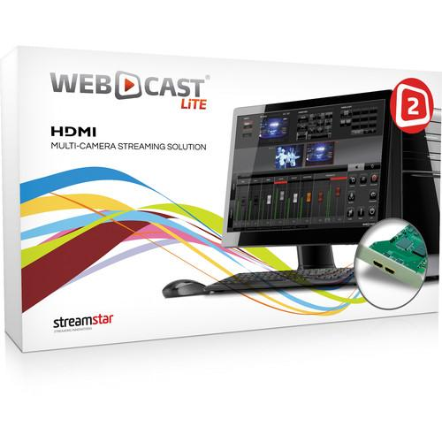 STREAMSTAR WEBCAST LiTE 2 with Two-Input HDMI WEBCASTLITE2