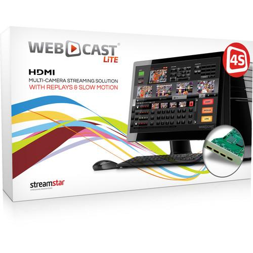 STREAMSTAR WEBCAST LiTE 4S Sports Edition WEBCASTLITE4S