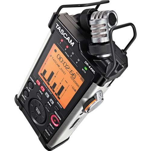 Tascam DR-44WL Portable Handheld Recorder with Wi-Fi DR-44WL