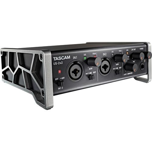 Tascam US-2x2 2-Channel USB Audio Interface US-2X2