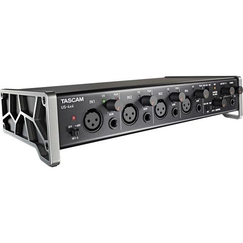 Tascam US-4x4 4-Channel USB Audio Interface US-4X4