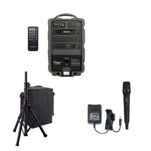 TeachLogic PA-825B Titan Neo Portable Wireless UHF Sound PA-825B