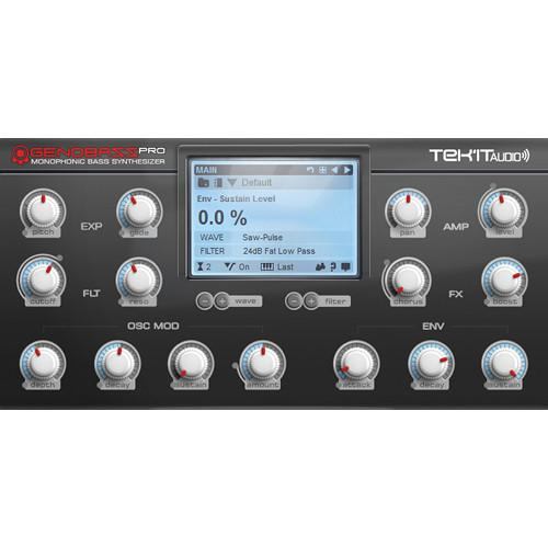 Tek'it Audio Genobazz Pro - Monophonic Software 11-31146