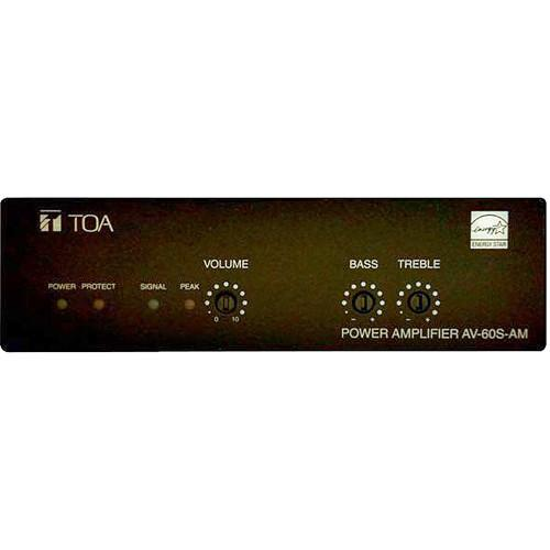 Toa Electronics AV-60S-AM Single-Channel Micro Install AV-60S-AM