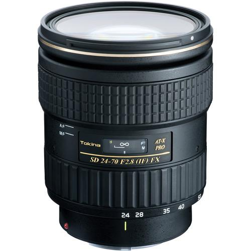 Tokina AT-X 24-70mm f/2.8 PRO FX Lens for Canon EF ATXAF247FXC