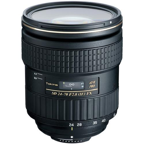 Tokina AT-X 24-70mm f/2.8 PRO FX Lens for Nikon F ATXAF247FXN