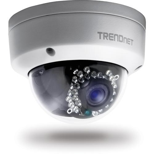 TRENDnet Outdoor 1.3MP HD PoE Dome IR Network Camera TV-IP321PI