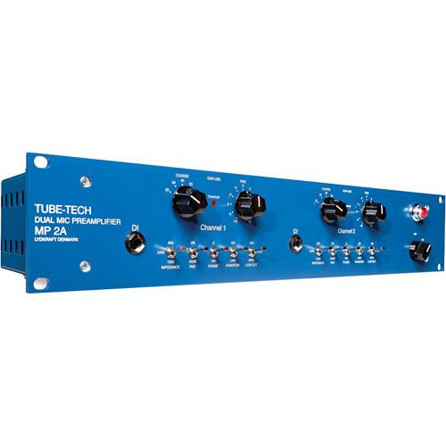 TUBE-TECH  MP2A Dual Microphone Preamplifier MP2A