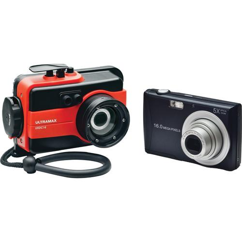 ULTRAMAX UXDC16 Underwater Digital Camera with Housing UXDC16-RD