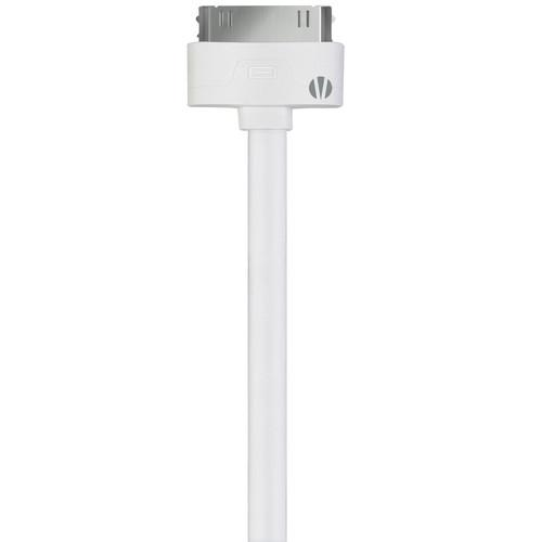 Vivitar 3' 30-Pin Apple Connector to USB Cable V11086-3-WHITE
