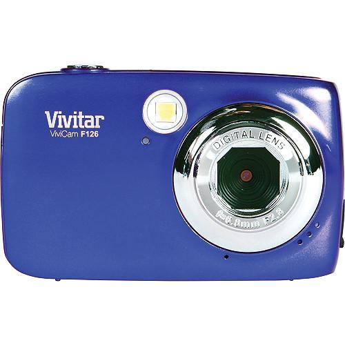 user manual vivitar f126 digital camera  blue  vf126