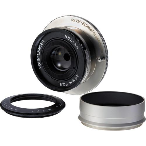 Voigtlander VM 40mm f/2.8 Heliar Lens for Sony E-Mount BA428B