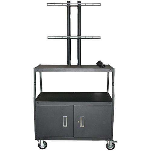 Vutec Adjustable Flat Panel Cart with Locking VFPCAB5434E
