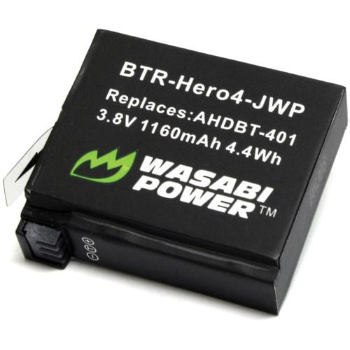 Wasabi Power Rechargeable Battery for GoPro HERO4 BTR-HERO4-JWP