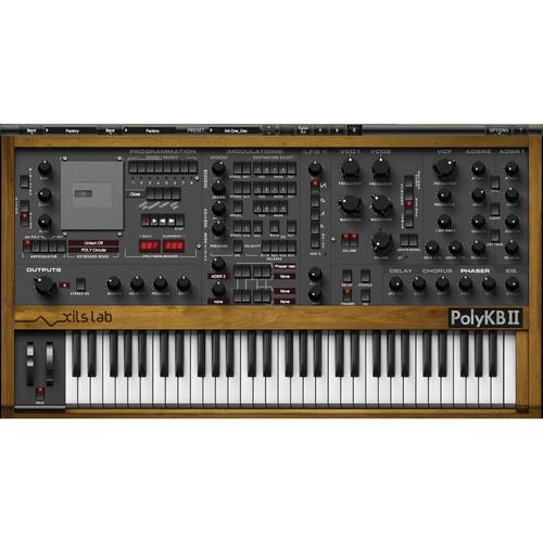 XILS-LAB PolyKB - Virtual Synthesizer Plug-In (Download)