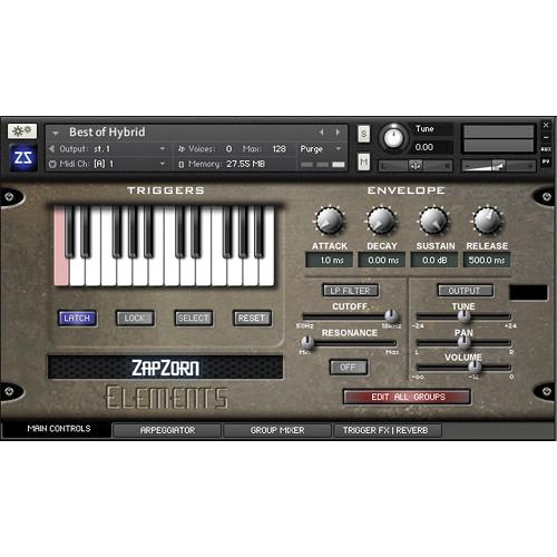 Zapzorn Elements - Multi-Layered Sound Design Tool 11-33102