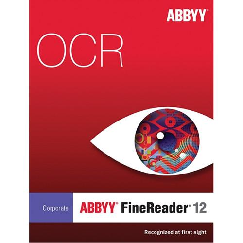 ABBYY FineReader 12 Corporate Upgrade with Dual-Core FRCEUW12E