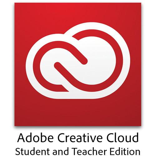 Adobe Creative Cloud 1-Year Subscription Student & Teacher