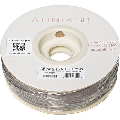 Afinia Value-Line ABS Filament for Afinia AF-ABS-1.75-1K-GRY-W