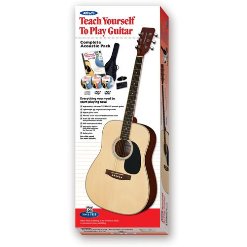 ALFRED Teach Yourself To Play Guitar Starter Pack - 00-39304