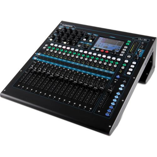 Allen & Heath Qu-16 Digital Mixer/Recorder Kit with Dust Cover