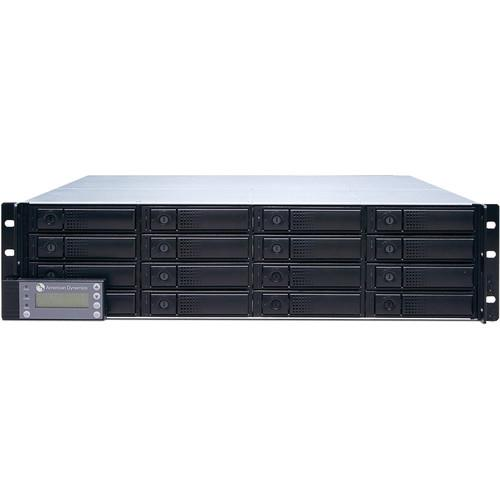 American Dynamics External iSCSI RAID Video Storage ADIRS2R1600