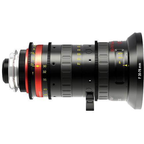 Angenieux 30-76mm Optimo Style Zoom Lens with PL 30-76 OPTIMO