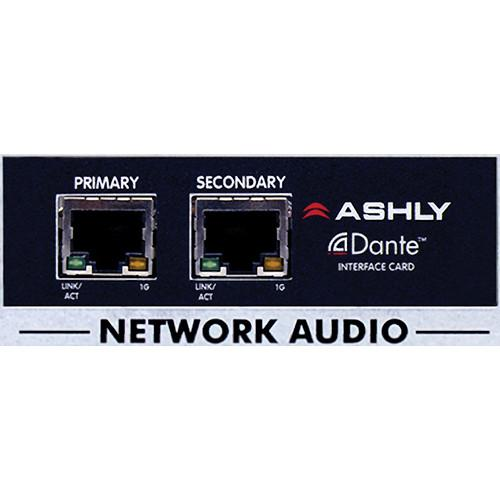 Ashly Dante Input Card for Network Amplifiers OPDANTE