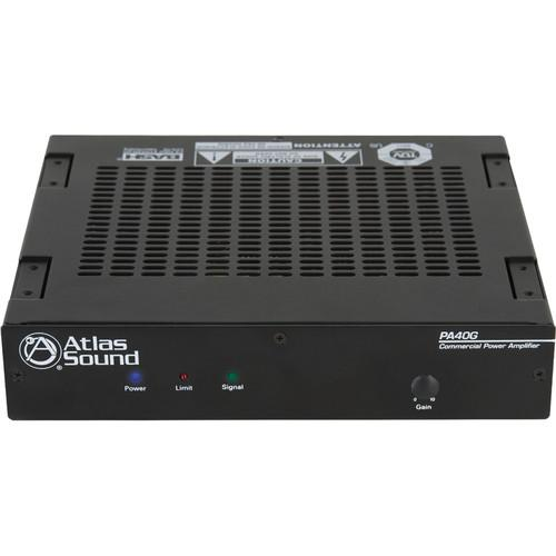 Atlas Sound PA60G 40W Single-Channel Power Amplifier PA40G