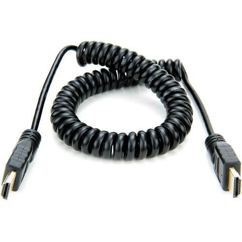 Atomos Full HDMI to Full HDMI Coiled Cable ATOMCAB011